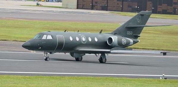 053, 2000EX, Dassault, Falcon, Falcon 20ECM, RIAT2016, Royal Norwegian Air Force (13.0Mp)