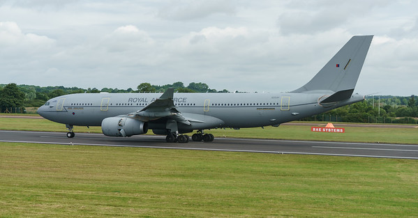 A330 MRTT, A330-243MRTT, Airbus, KC.2, Multi Role Tanker Transport, RAF, RIAT2016, Royal Air Force, Voyager, ZZ337 (26.4Mp)