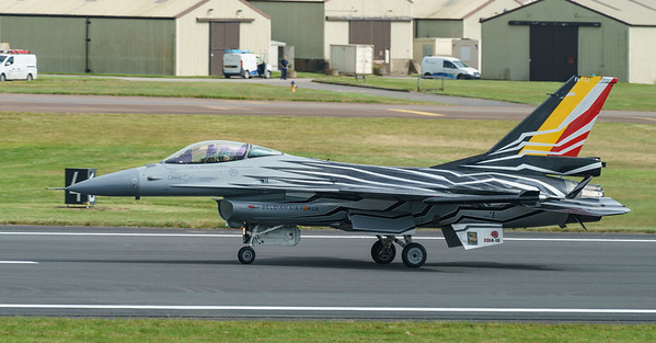 Belgian Air Component, F-16 Fighting Falcon, F-16AM, FA-123, Lockheed Martin, RIAT2016, Viper (26.4Mp)