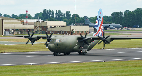 50 years scheme, C-130J, C.5, C130, Hercules, Lockheed, RAF, RIAT2016, Royal Air Force, ZH883 (30.0Mp)