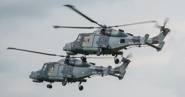 Agusta-Westland, Black Cats, HMA2, RIAT2016, Royal Navy, Wildcat, ZZ381, ZZ519 (15.3Mp)