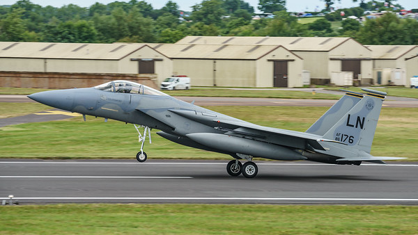 86-0176, Eagle, F-15C, McDonnell Douglas, RIAT2016, USAFE, United States Air Forces in Europe (32.1Mp)