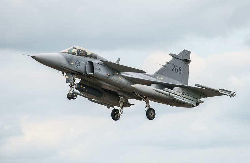 39268, Gripen, JAS 39C, RIAT2016, Saab, Swedish Air Force (21.4Mp)