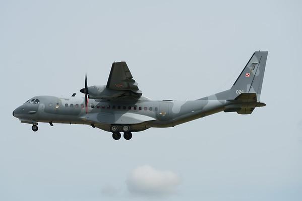 026, Airbus, C-295M, Polish Air Force, RIAT2016 (42.2Mp)
