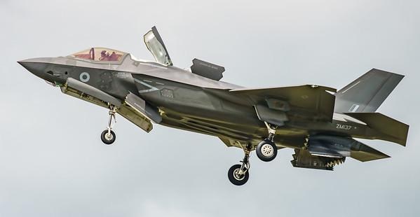 F-35, F-35B, Lightning II, Lockheed Martin, RAF, RIAT2016, Royal Air Force, ZM137 (11.2Mp)