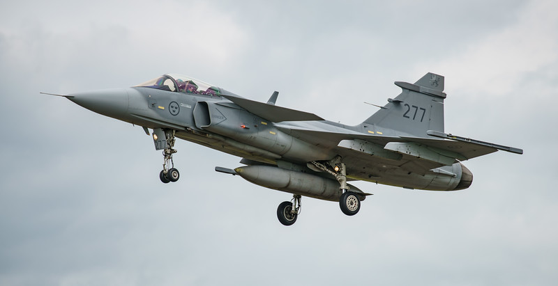 39277, Gripen, JAS 39C, RIAT2016, Saab, Swedish Air Force (25.1Mp)