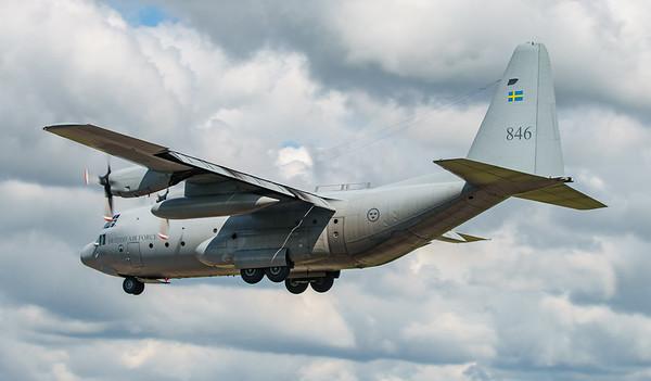 846, C130, C130H, Hercules, Lockheed, RIAT2016, Swedish Air Force (18.9Mp)