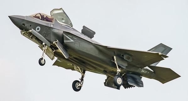 F-35, F-35B, Lightning II, Lockheed Martin, RAF, RIAT2016, Royal Air Force, ZM137 (8.7Mp)