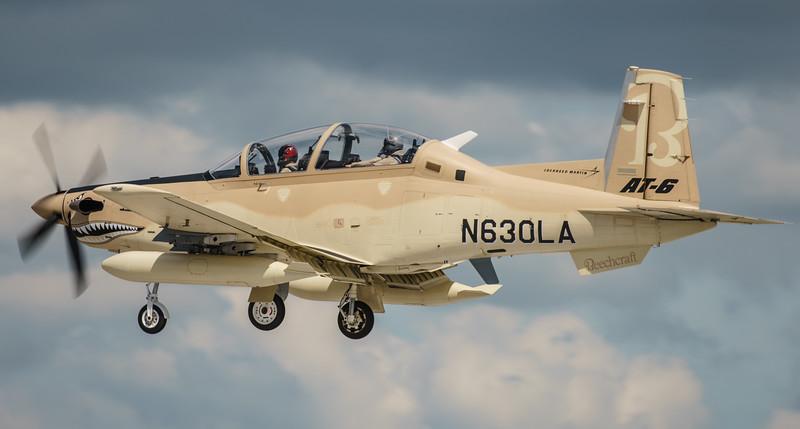 AT-6B, Beechcraft, N630LA, RIAT2016, Taxan II, Wolverine (20.3Mp)