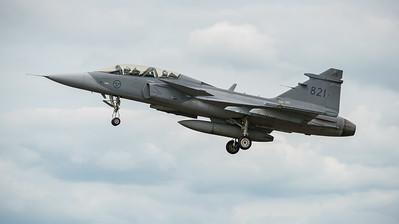39821, Gripen, JAS 39D, RIAT2016, Saab, Swedish Air Force (35.4Mp)