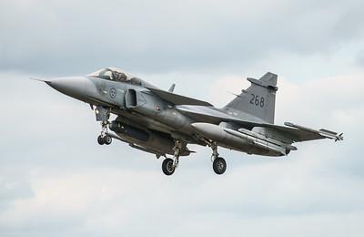 39268, Gripen, JAS 39C, RIAT2016, Saab, Swedish Air Force (21.4Mp)