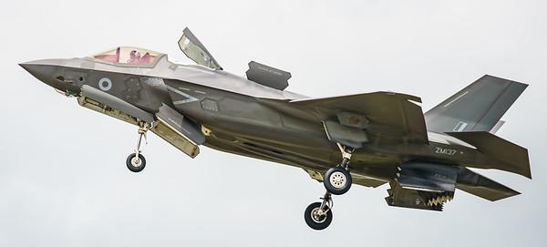 F-35, F-35B, Lightning II, Lockheed Martin, RAF, RIAT2016, Royal Air Force, ZM137 (17.4Mp)