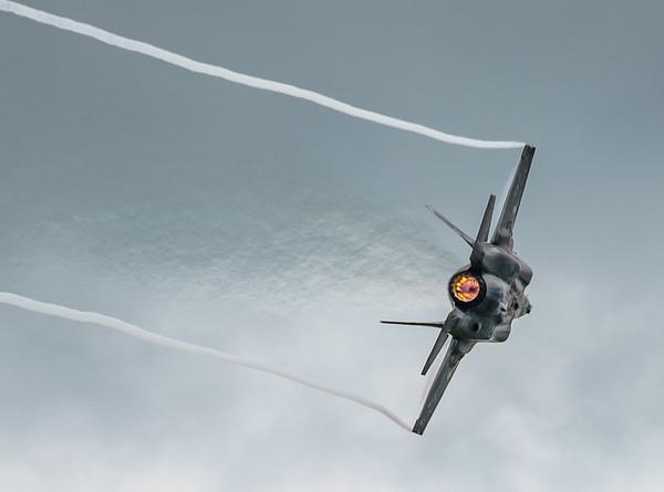 168726, F-35, F-35B, Lightning II, Lockheed Martin, RIAT2016, US Marine Corps, VM-18 (4.1Mp)