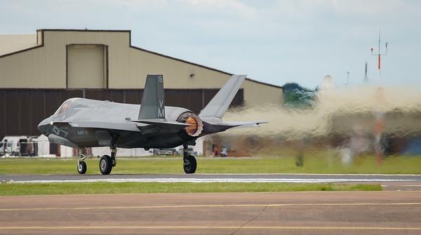 168726, F-35, F-35B, Lightning II, Lockheed Martin, RIAT2016, US Marine Corps, VM-18 (21.5Mp)