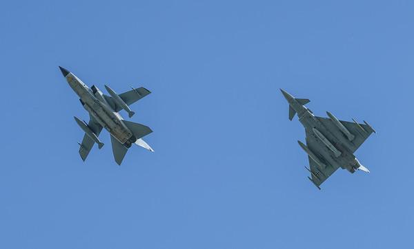 30+59, 43+38, EF2000T, Eurofighter, German Air Force, Panavia Aircraft, RIAT2016, Tornado IDS (13.9Mp)