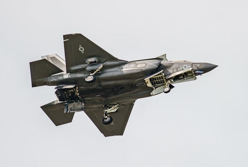 168726, F-35, F-35B, Lightning II, Lockheed Martin, RIAT2016, US Marine Corps, VM-18 (8.7Mp)
