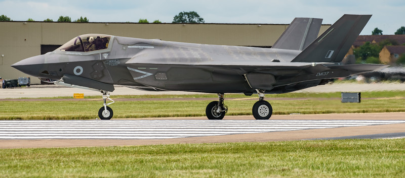 F-35, F-35B, Lightning II, Lockheed Martin, RAF, RIAT2016, Royal Air Force, ZM137 (22.0Mp)