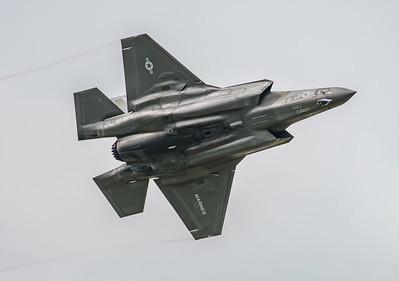 168726, F-35, F-35B, Lightning II, Lockheed Martin, RIAT2016, US Marine Corps, VM-18 (8.8Mp)