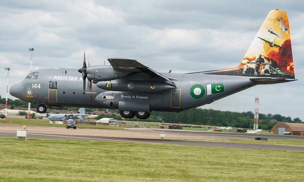4144, C130, C130E, Hercules, Lockheed, Pakistan Air Force, RIAT2016 (32.7Mp)
