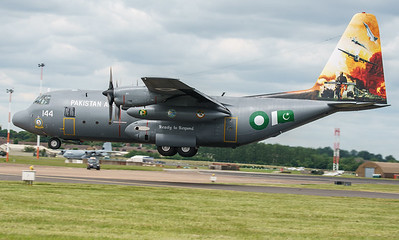 4144, C130, C130E, Hercules, Lockheed, Pakistan Air Force, RIAT2016 (32.7Mp)