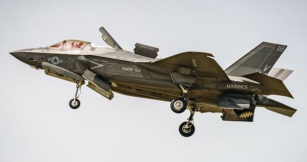 168726, F-35, F-35B, Lightning II, Lockheed Martin, RIAT2016, US Marine Corps, VM-18 (16.9Mp)