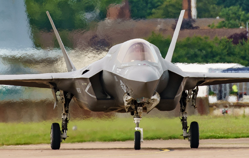168726, F-35, F-35B, Lightning II, Lockheed Martin, RIAT2016, US Marine Corps, VM-18 (3.1Mp)
