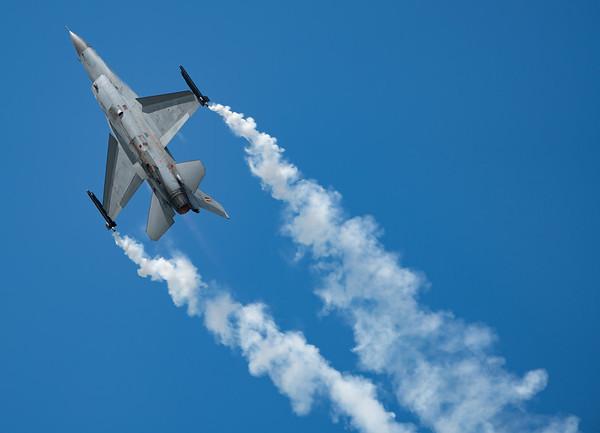 Belgian Air Component, Biggin Hill, F-16 Fighting Falcon, F-16AM, FA-124, Festival of Flight 2017, Lockheed Martin, Viper; London Biggin Hill Airport,Biggin Hill,London,England