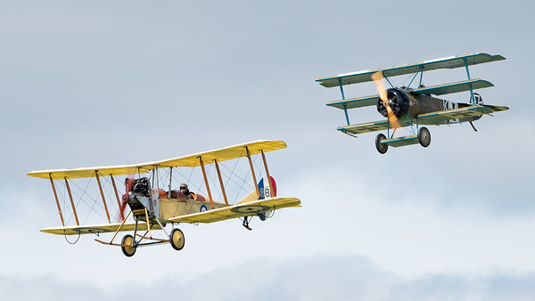 Biggin Hill, Festival of Flight 2017, The Great War Display Team; London Biggin Hill Airport,Biggin Hill,London,England