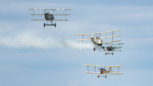 Biggin Hill, Festival of Flight 2017, The Great War Display Team; London Biggin Hill Airport,Biggin Hill,London,England