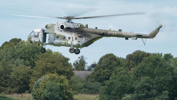 9781, Biggin Hill, Czech Air Force, Festival of Flight 2017, Hip, Mi-171, Mil; London Biggin Hill Airport,Biggin Hill,London,England