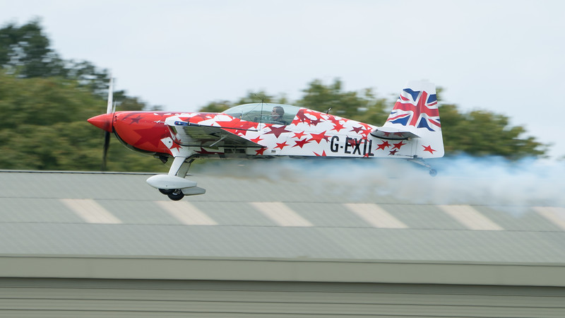 Biggin Hill, Extra, Extra EA 300, Festival of Flight 2017, Full Size, G-EXIL, G-Force Aerobatics, Little and Large; London Biggin Hill Airport,Biggin Hill,London,England