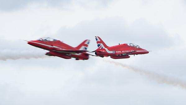 BAe, Biggin Hill, British Aerospace, Festival of Flight 2017, Hawk T1, RAF, Red Arrows, Royal Air Force; London Biggin Hill Airport,Biggin Hill,London,England