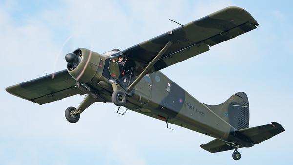 Army Air Corps, Beaver, De Havilland Canada, Historic Aircraft Flight, Wings, Wings and Wheels 2017, XP820; Dunsfold Aerodrome,Waverley District,Surrey,England