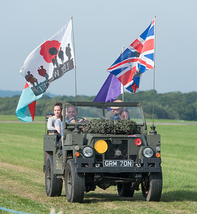 Military Parade, Wheels, Wings and Wheels 2017; Dunsfold Aerodrome,Waverley District,Surrey,England