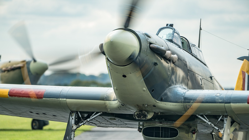 Battle of Britain Show 2017, Duxford; IWM Duxford,South Cambridgeshire District,Cambridgeshire,England