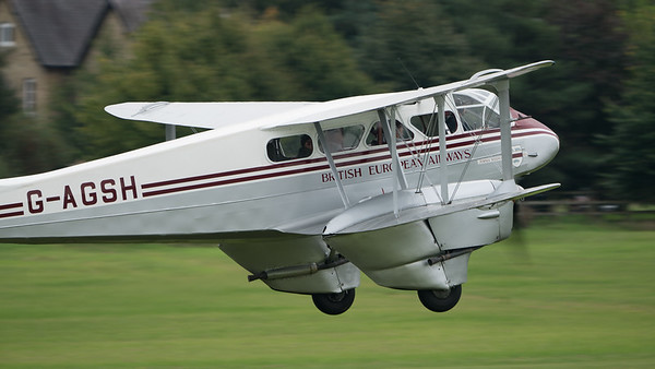 DH-89A, De Havilland, Dragon Rapide, G-AGSH, Shuttleworth Heritage Day; Old Warden Aerodrome,Bedford,Central Bedfordshire,England