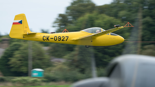 CK-0927, Glider, LF-107 Luňák, Letov, Shuttleworth Heritage Day; Old Warden Aerodrome,Bedford,Central Bedfordshire,England