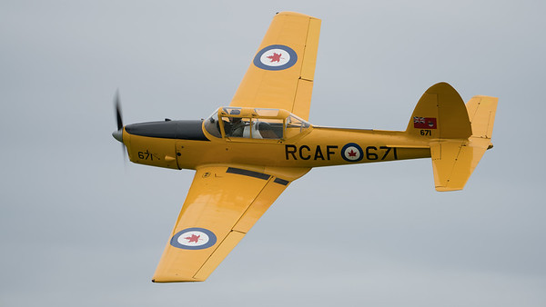 671, Chipmunk, De Havilland Canada, Shuttleworth Heritage Day, T.22; Old Warden Aerodrome,Bedford,Central Bedfordshire,England