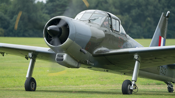 G-KAPW, P-56 T.1, Percival, Provost, Shuttleworth Heritage Day, XF603; Old Warden Aerodrome,Bedford,Central Bedfordshire,England