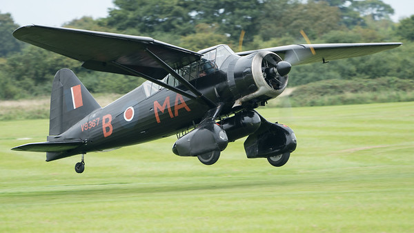 G-AZWT, IIIA, Lysander, Shuttleworth Heritage Day, V9367, Westland; Old Warden Aerodrome,Bedford,Central Bedfordshire,England
