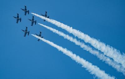 Bournemouth Air Festival, Breitling Jet Team, Czech Aero, Day Display, L-39 Albatros - 31/08/2018:17:02