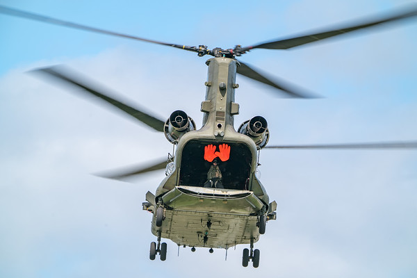 Boeing, Chinook Display, Dunsfold, HC6A, RAF, Wings, Wings and Wheels, ZH775 - 25/08/2018:12:33