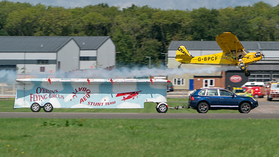 Dunsfold, G-BPCF, O'Brien's Flying Circus, Piper J-3 Cub, Wings, Wings and Wheels - 25/08/2018:12:02