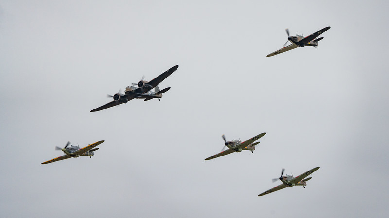 Battle of Britain Sow 2018, Duxford, Saturday - 22/09/2018@13:27