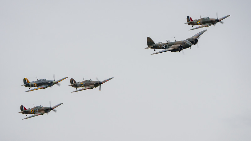 Battle of Britain Sow 2018, Duxford, Saturday - 22/09/2018@13:26