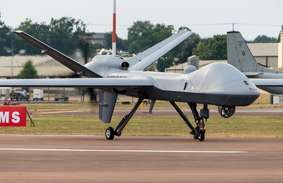 General Atomics, MQ-9B, N190TC, RAF Fairford, RIAT 2018, SkyGuardian, unmanned aerial vehicle - 11/07/2018:18:54