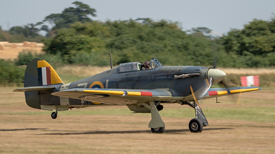 Family Airshow 2018, Flying Display, Old Warden, Shuttleworth - 05/08/2018:13:50