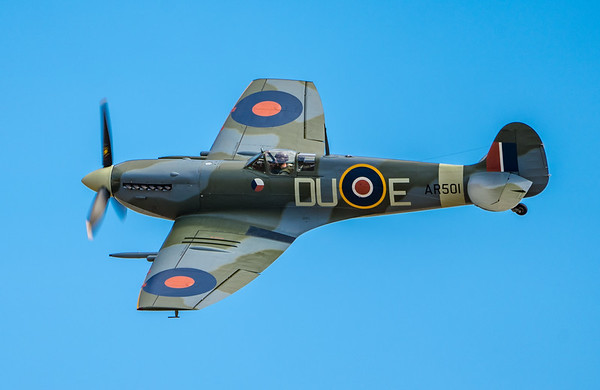 Family Airshow 2018, Flying Display, Old Warden, Shuttleworth - 05/08/2018:14:00
