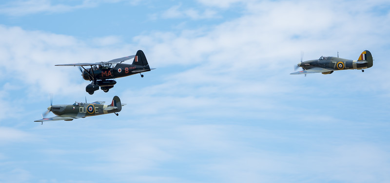 Family Airshow 2018, Old Warden, Shuttleworth - 05/08/2018:13:57