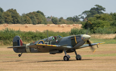 Family Airshow 2018, Flying Display, Old Warden, Shuttleworth - 05/08/2018:13:46